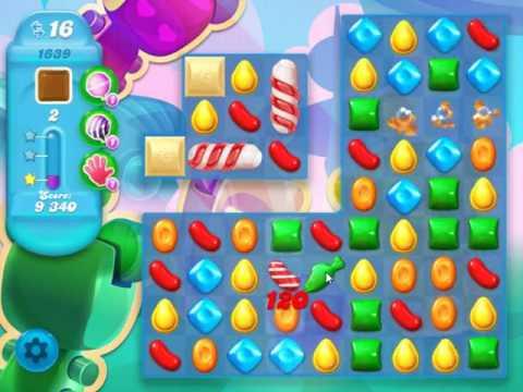 Candy Crush Soda Saga Level 1639 - NO BOOSTERS
