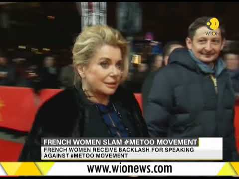 French women slam #MeToo movement