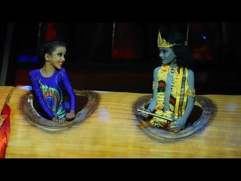 D4 Junior Vs Senior I Vaigakutty as Mayilpeeli of Krishna I Mazhavil Manorama