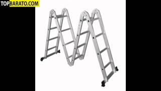 Multifunktions Klappleiter Escalera Plegable Multiposiciones Folding Ladder Échelle Transformable