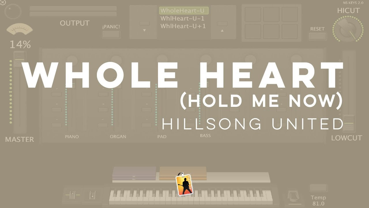 Whole Heart (Hold Me Now) - Hillsong United // MainStage 3 patch