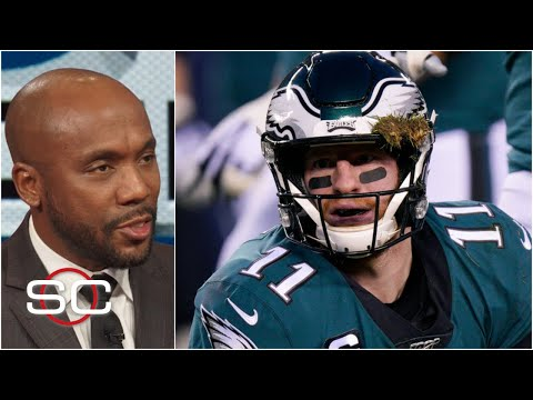 Carson Wentz's Injury Warrants A Penalty Flag - Louis Riddick | SportsCenter