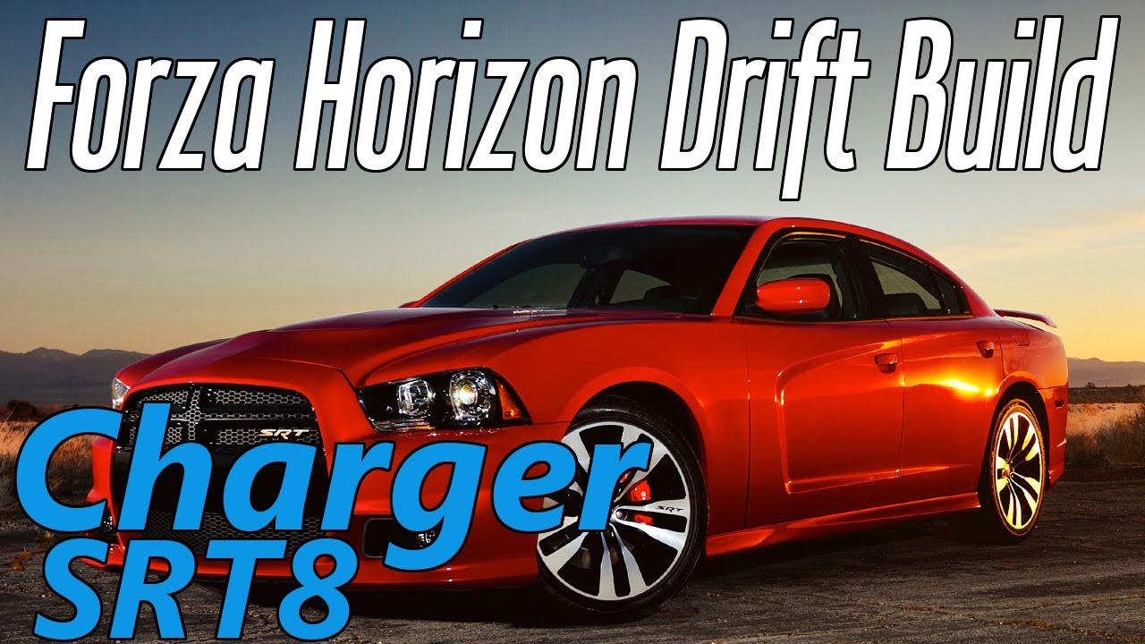 Forza Horizon Dodge Charger Drift Car Build W Commentary