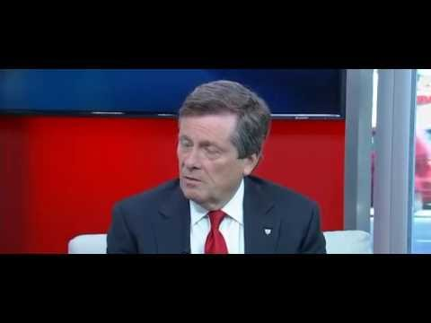 Interview #4 John Tory on Toronto Violence - June 9, 2016