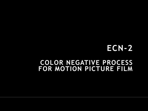 ECN-2 Color Negative for Motion Picture Film