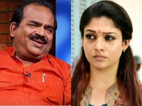 Nanjil Sampath's Controversial Speech about Actress Nayanthara - Dinamalar Aug 8th 2016