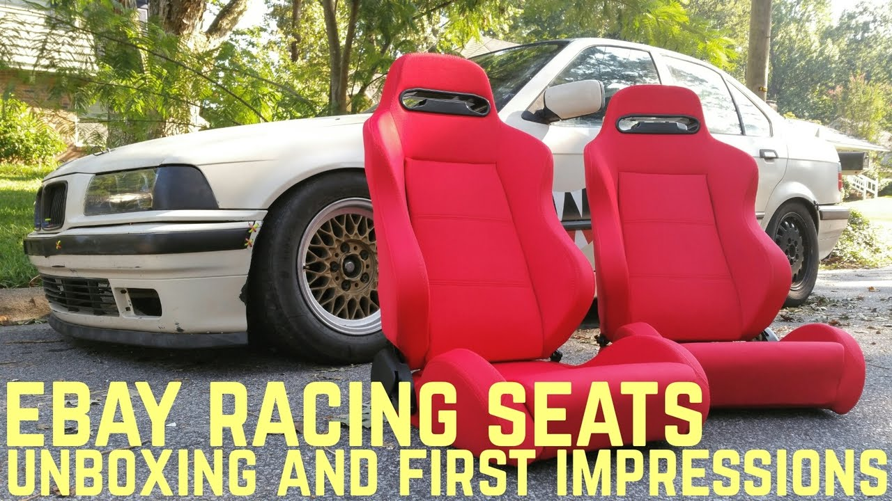 Ebay Racing Seat Unboxing First Impressions Youtube