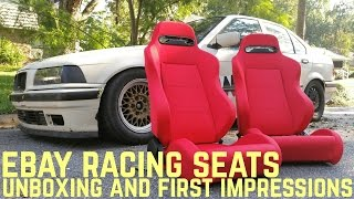 Ebay Racing Seat Unboxing: First Impressions