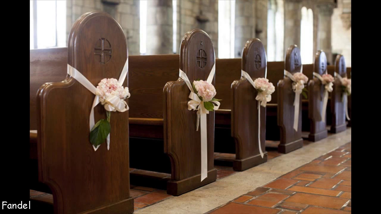 Simple Church Wedding Decorating Ideas & Simple Church Wedding Decorating Ideas - YouTube