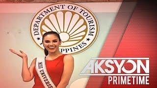 Miss Universe Catriona Gray, itinalagang tourism ambassador