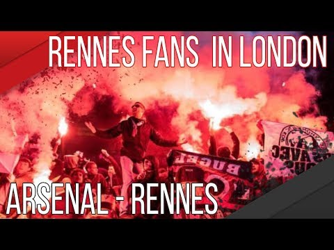 AMBIANCE STADE RENNAIS | ARSENAL - RENNES A LONDRES