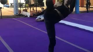 Tatiana Neva martial arts training