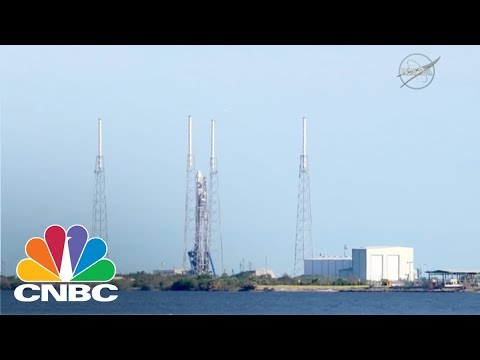 SpaceX Launches First Used Rocket For NASA Mission | CNBC