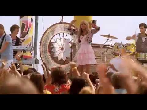 "Hannah Montana - ""Let's get crazy"" music video"