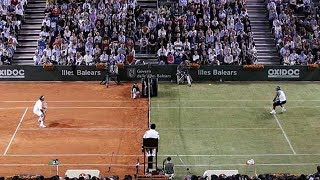 Tennis Craziest Match EVER? Federer VS. Nadal - Battle Of The Surfaces