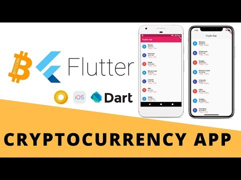 Flutter - Build Cryptocurrency App From Scratch | Android & iOS | Bitcoin | Full tutorial