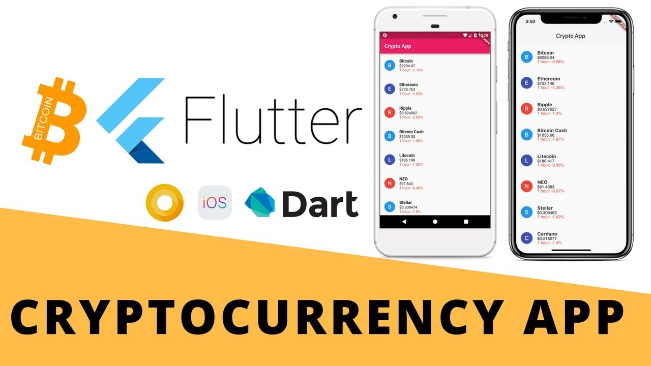 Flutter - Build Cryptocurrency App From Scratch