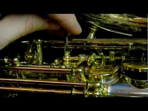 Saxophone Repair Tip: Domed G#/bis Adjustment Materials