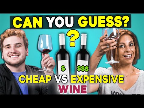 Can People Guess Cheap vs. Expensive Wine?   People vs. Food