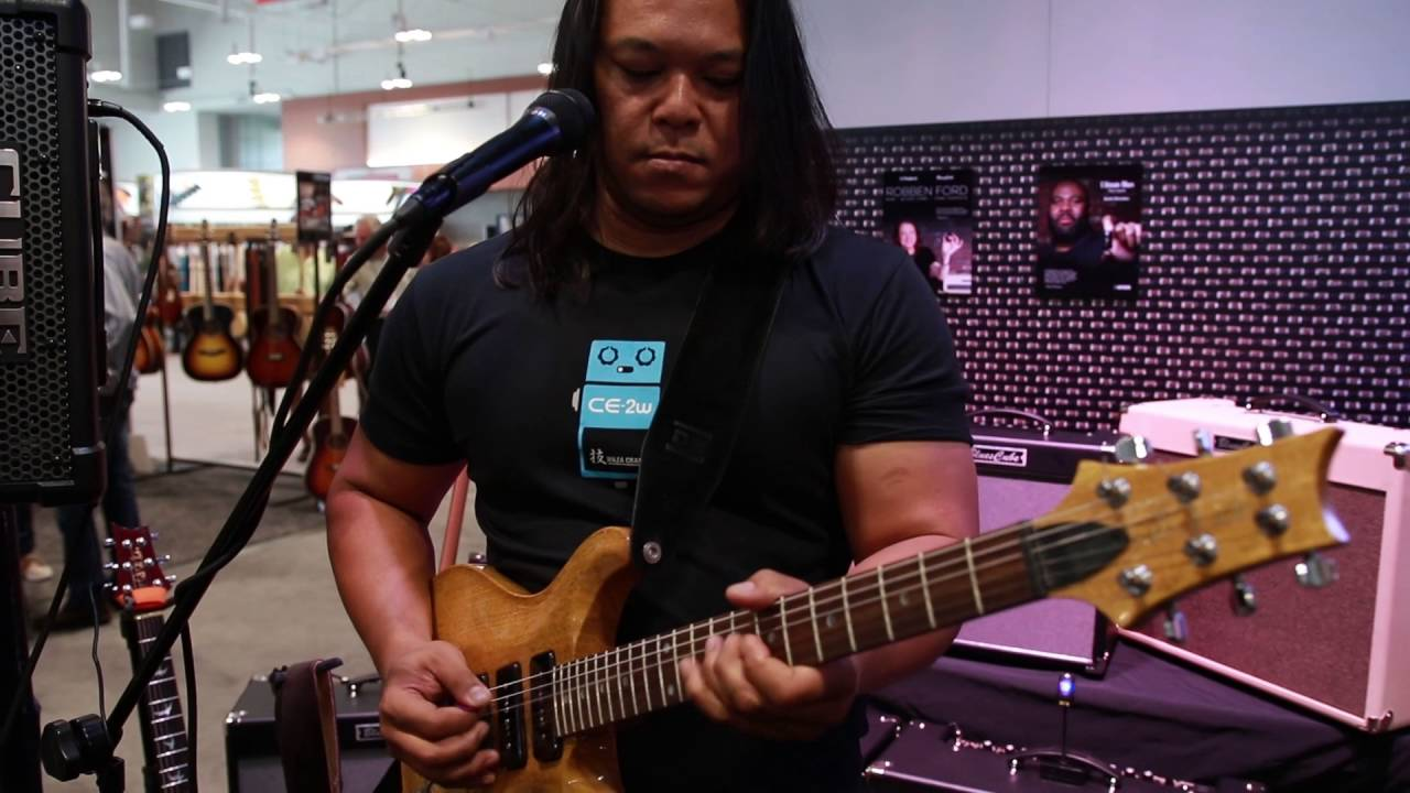 Summer Namm 2016 Roland Blues Cube Robben Ford Tone