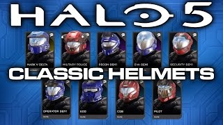 Halo 5 News - Classic Helmet REQ Pack Announced!