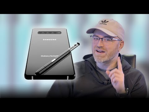 The Galaxy Note 10 Secret Selfie Camera