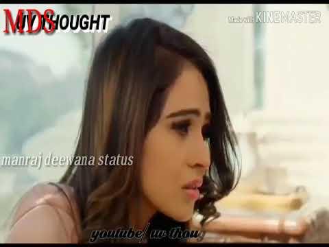 #Manraj_deewana_status manraj Gurjar New whatsapp status video dard bhara  Song