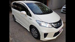 Honda Freed Гибрид - Лучший компактный минивен!