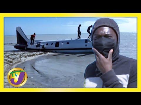 Plane Crash in Jamaica   TVJ News