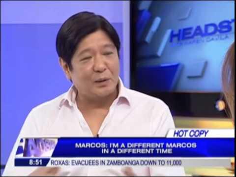 Sen. Bongbong Marcos Interview 2014 #BBM2016