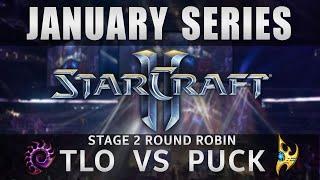TLO vs Puck [ZvP] Round Robin Stage 2 - January Series - Starcraft 2