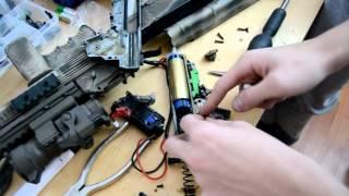 Airosft - rozložení a složení mechaboxu III