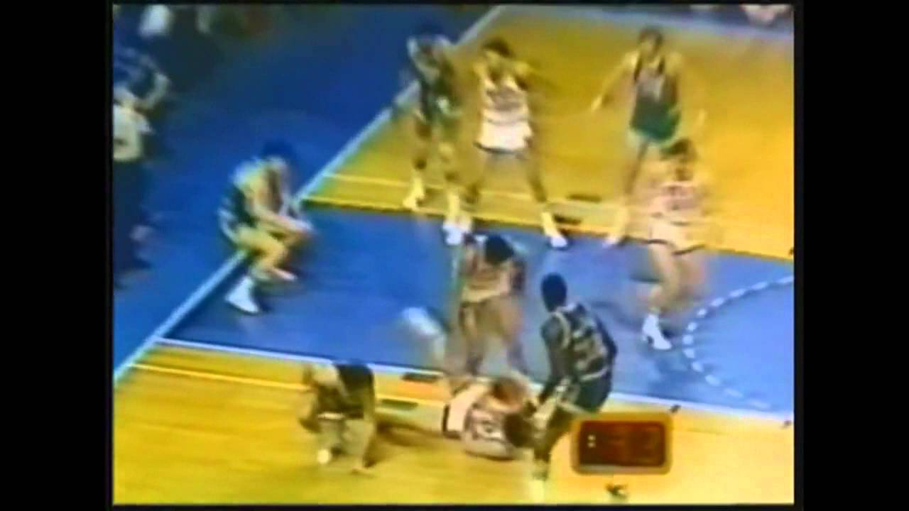 Paul Westphal Elevates for Game Clinching Dunk in 1977 All Star