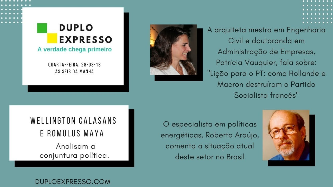 Duplo Expresso 28 Mar 2018 Duplo Expresso