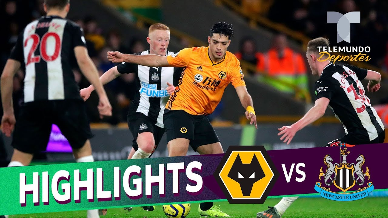 Wolverhampton Vs Newcastle United 1 1 Goals Highlights