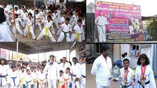 Karate Classes in Tiruvallur ./கராத்தேவில் கலக்கும் இளம் சாதனையாளர்கள்9507999097