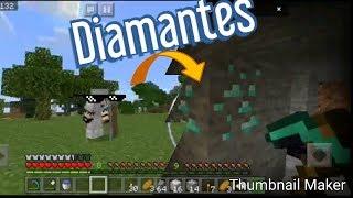 Minecraft como encontrar diamantes rápido y facil