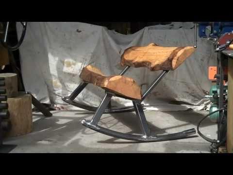 It's Official..! Log Furniture Rocks @ Rock-n-Log.com