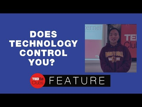 Does technology control you? | Amber Tomihama | Maryknoll School