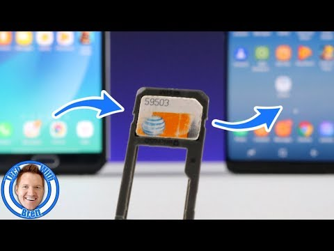 Transfer SIM Card to Another Phone