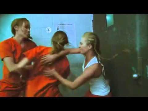 Catfight in prison