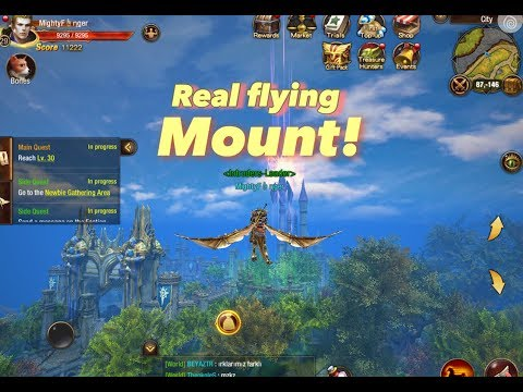 Dragon Revolt || Gameplay and Flying Mount