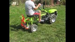 MOTOKULTIVATOR GRILLO 107 D