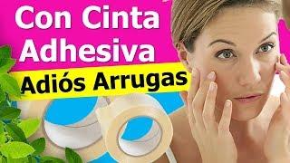 Adios Arrugas Ve Cómo Utilizar Cinta Adhesiva Para Eliminar Las Arrugas En Torno A La Boca Y Rostro