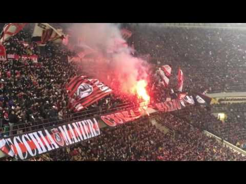 AC Milan vs Inter 2-2 Curva Sud Milano - Ultras Tifo