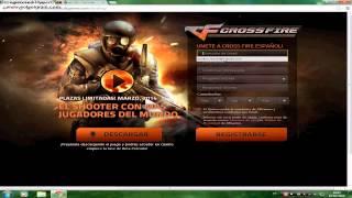 Como criar conta no Crossfire ES