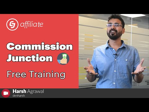 Commission Junction Free Training for Beginners: 2019 (Affiliate Marketing) thumbnail