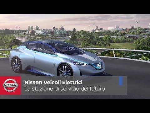 Nissan presenta la stazione di servizio del futuro