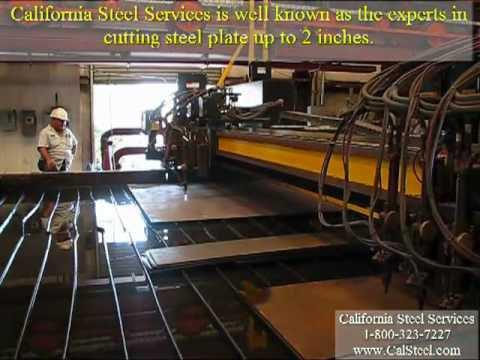 Operations: Flame Cutting - California Steel Services