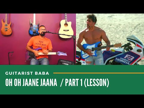 "Guitarist Baba | Guitar Lesson ""Oh Oh Jane Jaana"" 
